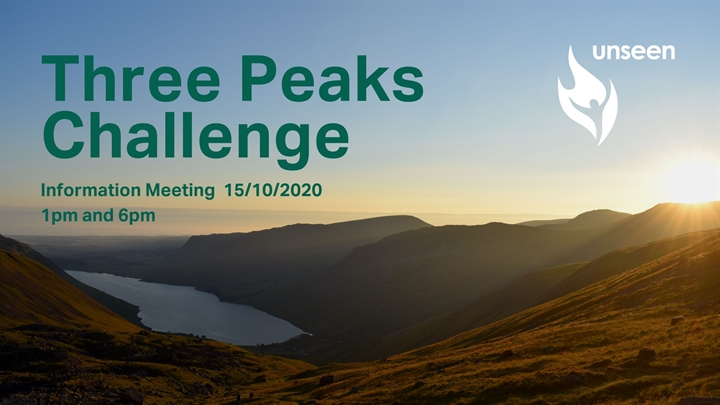 Three Peaks Info Meeting with Unseen UK - afternoon