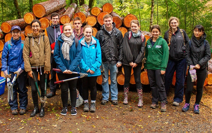 Volunteer at Yarner Woods
