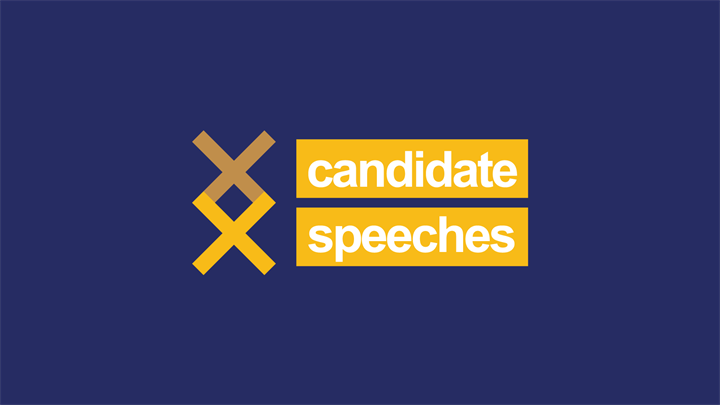 Student Elections 2020: Candidate Speeches