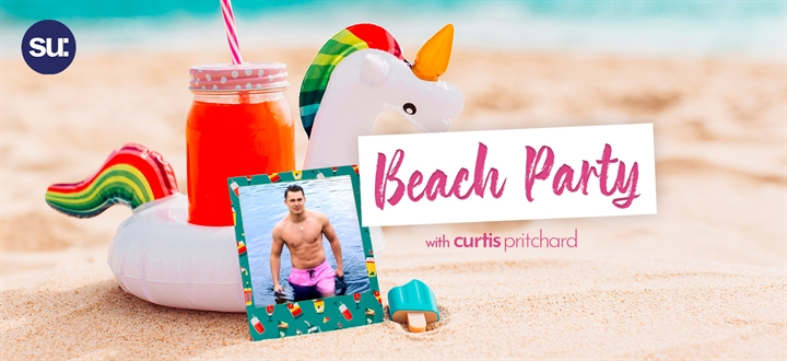 Love Island Beach Party with Curtis Pritchard