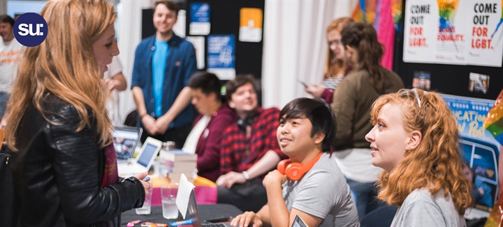 The SU Societies Fair: Day 1
