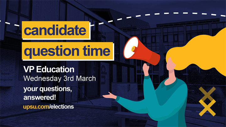 Candidate Question Time: VP Education