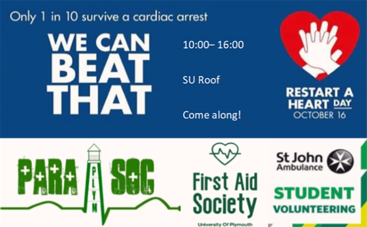 PARA:SOC and First Aid Society present: Restart a Heart day
