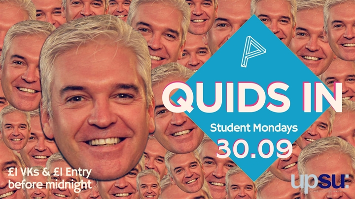 QUIDS IN - Philip Schofield Appreciation Night