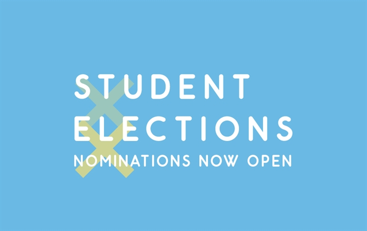 Student Elections: Nominations Open