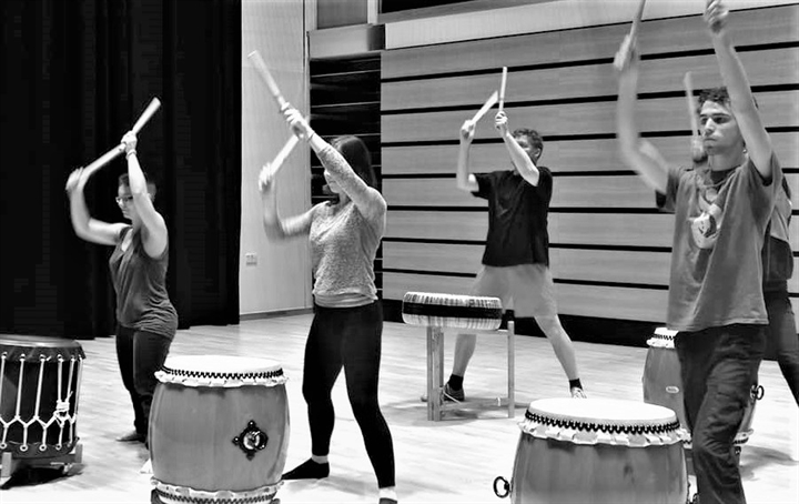 Give It A Go Taiko Drumming