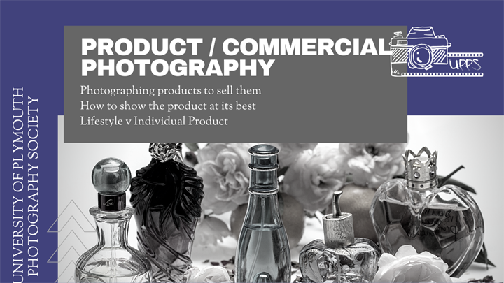Product and Commercial Photography Workshop