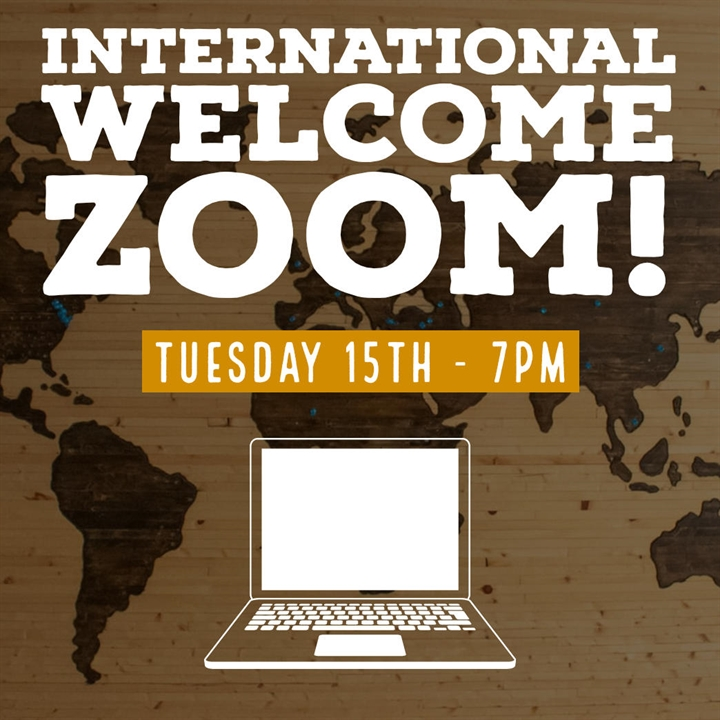 International Welcome Zoom!