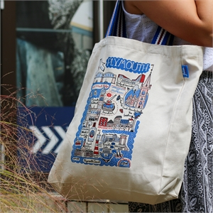 Image for Plymouth Large Tote Bag