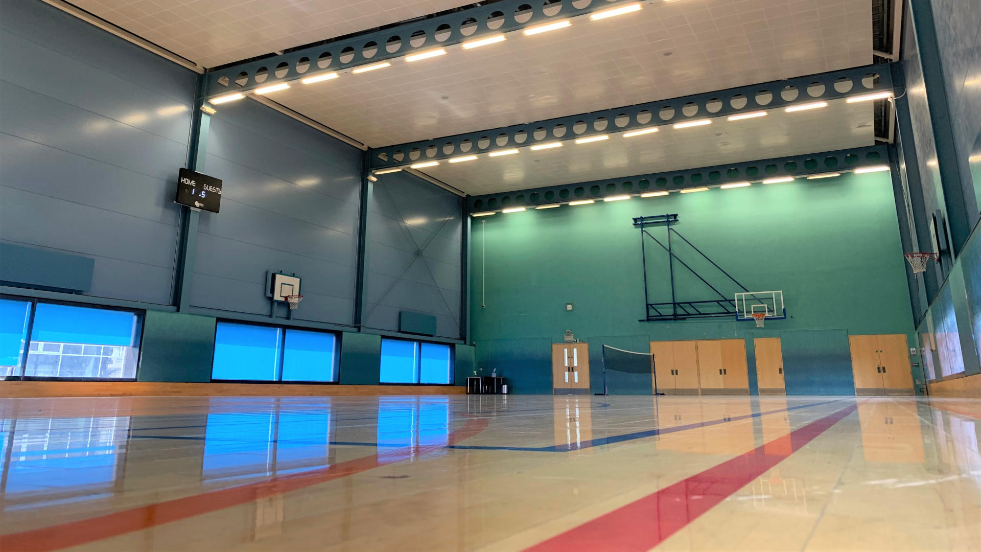 Sports hall & courts for hire